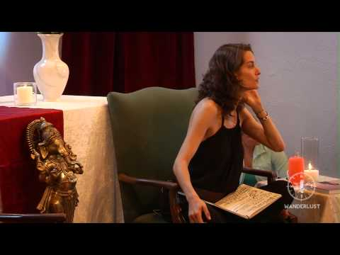"""Spiritual Partnership"" Elena Brower at Wanderlust's Speakeasy"