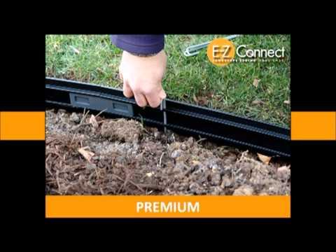 E Z Connect Premium Landscape Edging By Dimex Llc Youtube