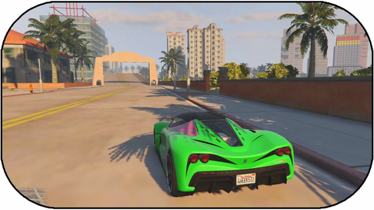 Gta 5 Vice City Map Expansion Gameplay Gta 5 Mods Youtube