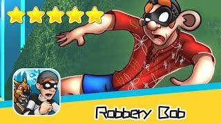 Robbery Bob™ - Level Eight AB - Extras 5-7 Walkthrough New Game Plus Recommend index five stars