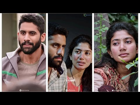 Love Story Full Screen Whatsapp Status | Naga Chaitanya, Sai Pallavi | Desi Status