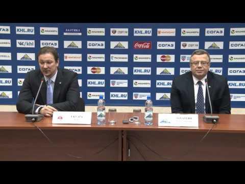 Пресс-конференция Салават Юлаев - Торпедо (13.01.2016)