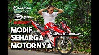REVIEW HONDA CBR250RR MODIF SEHARGA MOTORNYA YANG INGIN TAMPIL HEDON