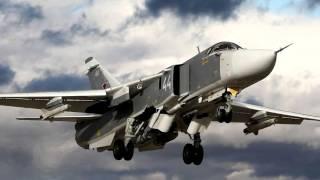 Сравнение американского Ф   111 и российского Су  24