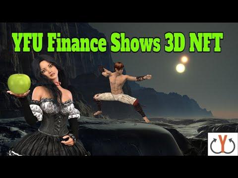 YFU Finance Shows 3D NFT