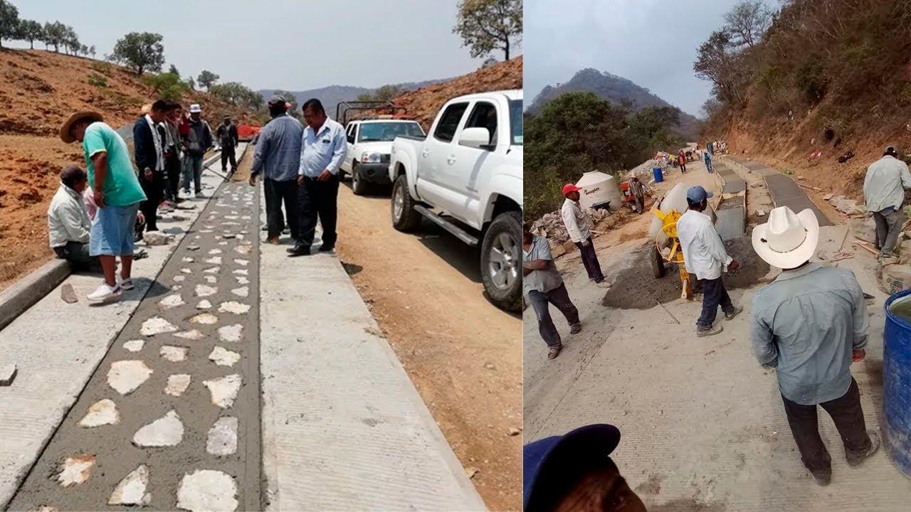 CONSTRUCCIÓN Y PAVIMENTACIÓN DE CAMINOS RURALES EN MÉXICO