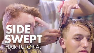 Men Hair 2019 | Side Swept Quiff Tutorial | Hairstyle Inspiration