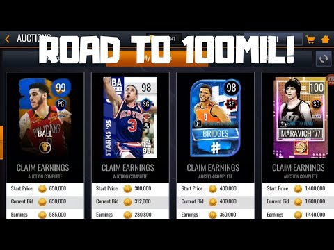 MAKING EASY COINS!!! ROAD TO 100 MILLION COINS IN NBA LIVE MOBILE 20!!! EPISODE #11