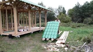 Как мы строили дом(Строительство каркасного дома по интуитивной технологии. Часть записи была повреждена, поэтому не все..., 2014-12-26T18:55:53.000Z)