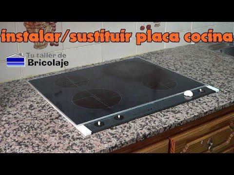 C mo instalar o sustituir una placa de cocina youtube - Plancha de cocina para empotrar ...