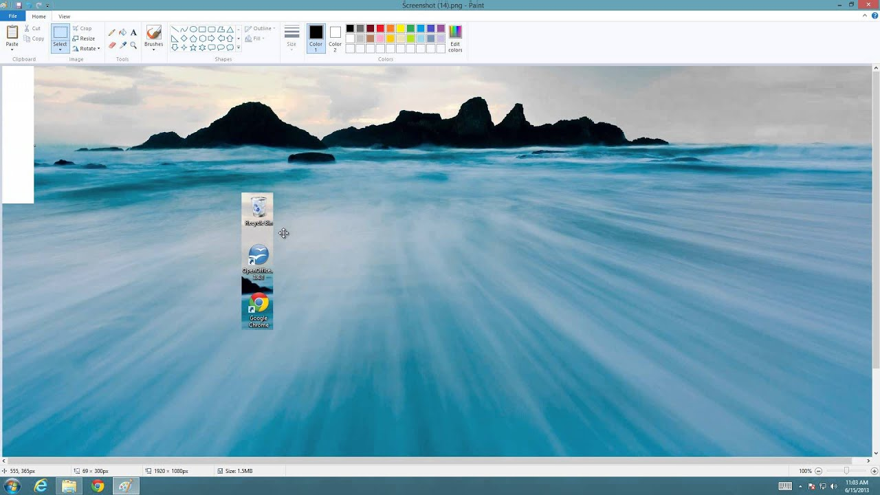 How to Crop a Picture in Windows 8