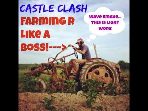 Castle Clash Farming HBM R