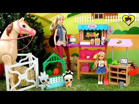 Chelsea y el Misterio de las Zanahorias - Historias con Juguetes de Barbie y LOL Pets