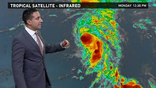 Tropics Outlook: Tropical Depression 19 forms on Monday, November 6, 2017