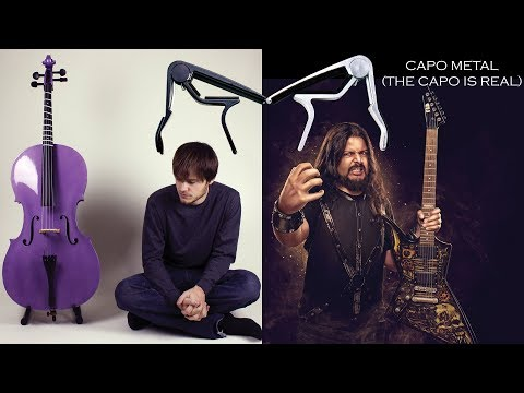Capo Metal (The Capo Is Real) - Vocal Version of 14th Fret Capo Metal by Rob Scallon