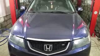 Honda Accord cl 7- cl 9 (МКПП) Замена правого сальника коробки, промежуточного подшипника привода.