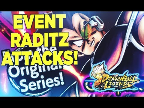 RADITZ EXTREME F2P ! PREMIERE DIFFICULTE EN PVE | DRAGON BALL LEGENDS FR