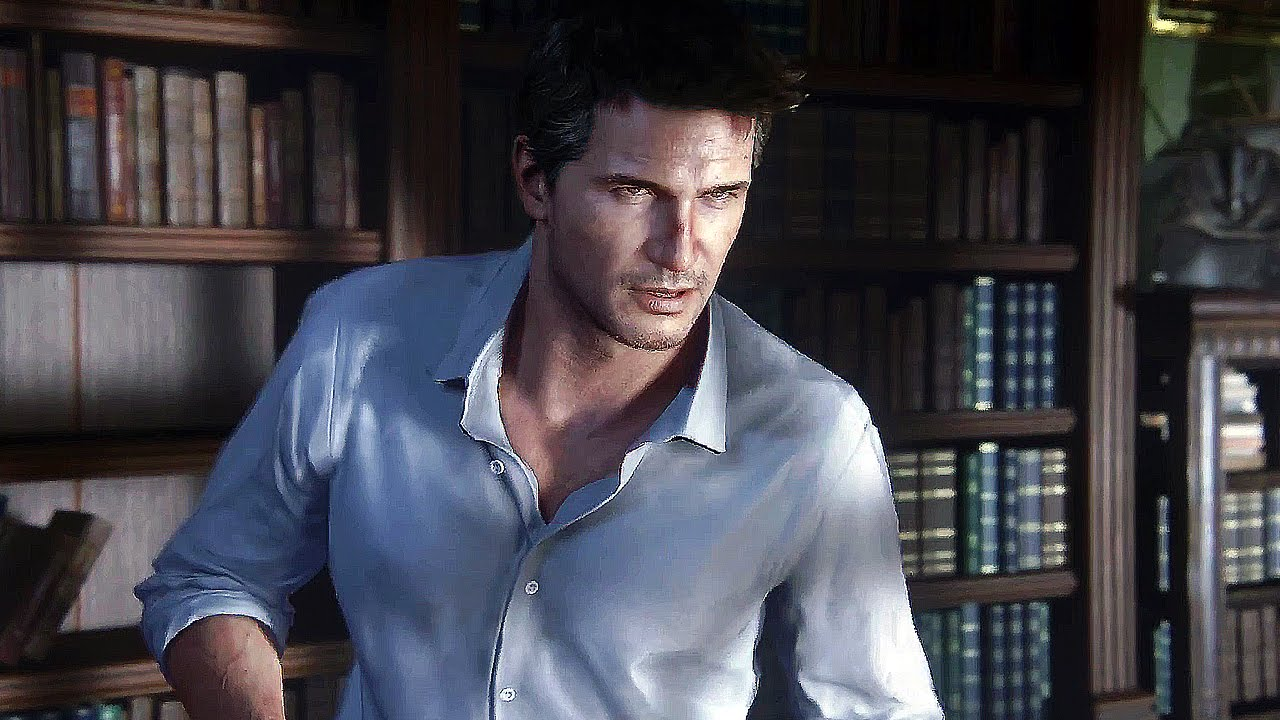 Uncharted 4 Nathan Drake Vs Nadine Ross Cinematique Youtube