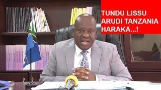 Spika Ndugai: Tundu Lissu arudi Tanzania haraka...! Hana Kibali cha kuzurura