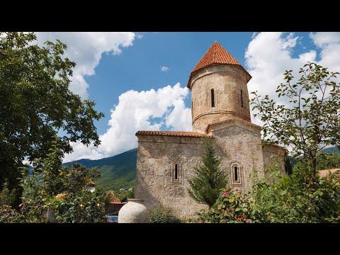 Азербайджан Шеки Церковь в селении Киш — «мать албанских церквей»