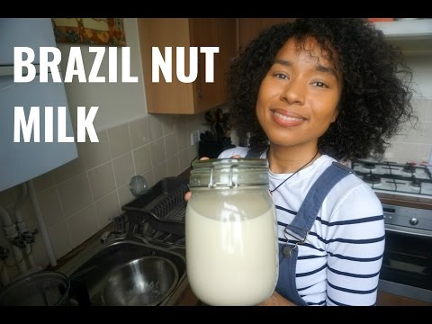 BRAZIL NUT MILK RECIPE | PLANT BASED