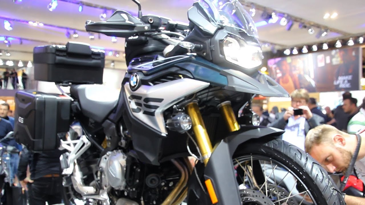 2018 BMW F 750 GS & F 850 GS - Walkaround - Eicma - YouTube