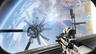 INSANE COMBAT IN SPACE ! In Cool FPS Game Call of Duty Ghosts