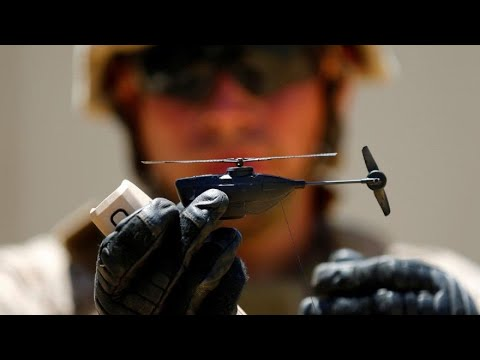 Marines Testing Out World's Smallest Drone-Army Nano Drone