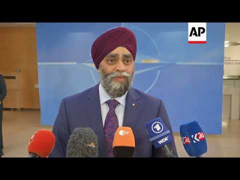 Defence ministers arrive ahead of NATO conference