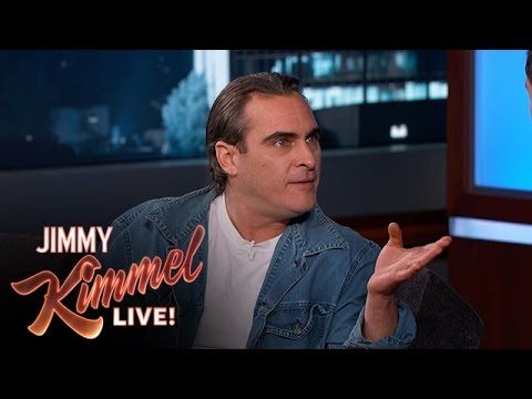 Joaquin Phoenix Has a Crush on Amy Poehler