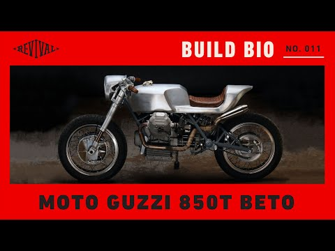 Revival Beto Moto Guzzi 850T //Revival Build Bio