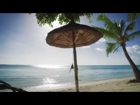 Relaxing HD Video of A Tropical Beach | Mauritius Le Morne