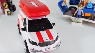 신제품 또봇 카고 변신로봇 장난감 이동기지 쿼트란 Tobot New Car Cargo Transformers Toy