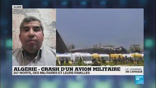 """Crash en Algérie : """"Au moment du décollage, l'un des moteurs a pris feu"""""""