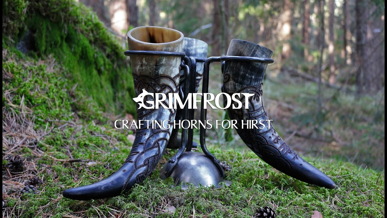 how to get the smell out of a drinking horn