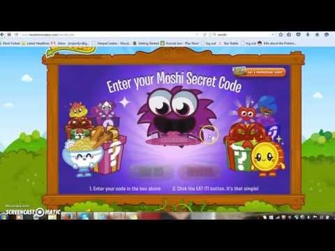 Moshi Monsters-Secret Codes