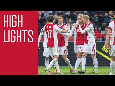 Highlights Ajax - NAC Breda