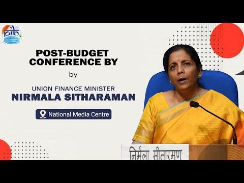 Union Budget 2021-22: Post-Budget Conference by Union Finance Minister Nirmala Sitharaman