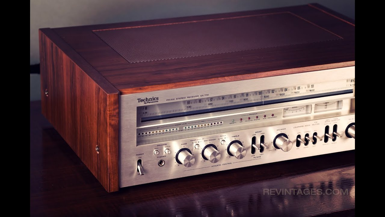 Technics Stereo Receiver SA 700 Demo