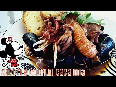 Zuppa Di Pesce Cacciucco Livornese Alla Chef Rubio Fish Soup