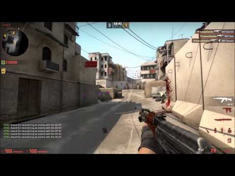 How to control AK-47 spray in CSGO