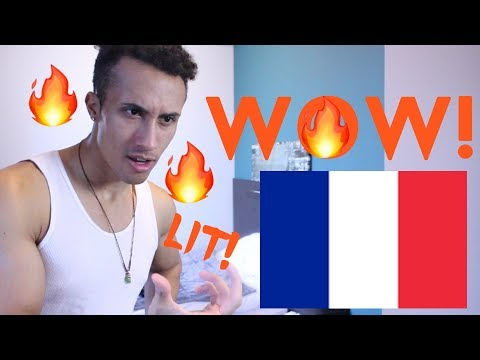 AMERICAN REACTING TO FRENCH HIP HOP / RAP (omg...)