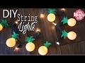 Dollar Tree DIY Pineapple String Lights