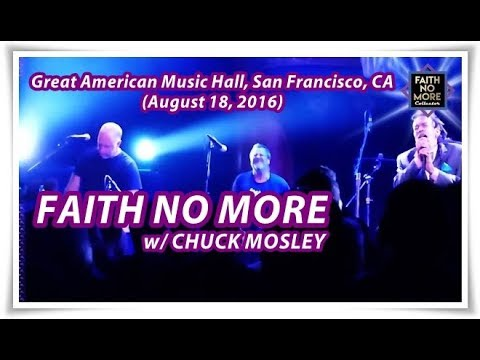 Faith No More at Great American Music Hall, San Francisco, CA, USA (August 18, 2016) 16:9 wide