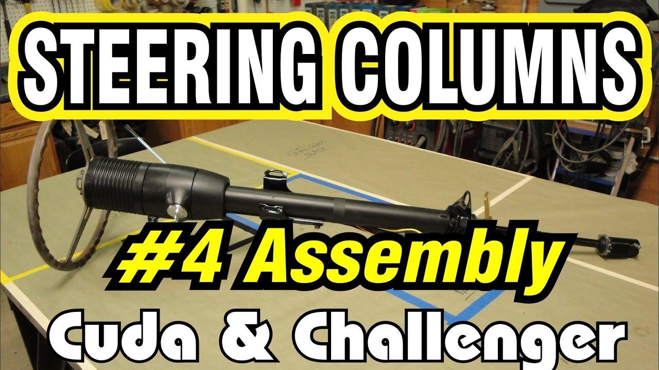 1970 dodge dart ignition wiring diagram venn bulletin board e body steering column part 4 final assembly cuda challenger youtube premium