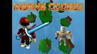 OP CODES + FREE ARMOR IN ROBLOX SKYWARS!! || Roblox skywars #2