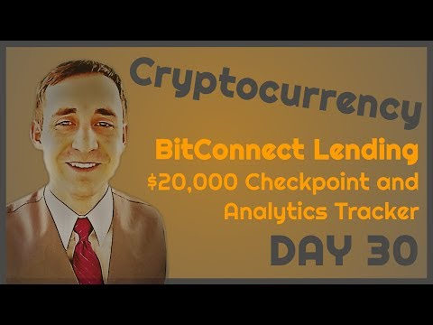 BitConnect Lending, Day 30: Performance checkpoint, introduction of analytics tracker