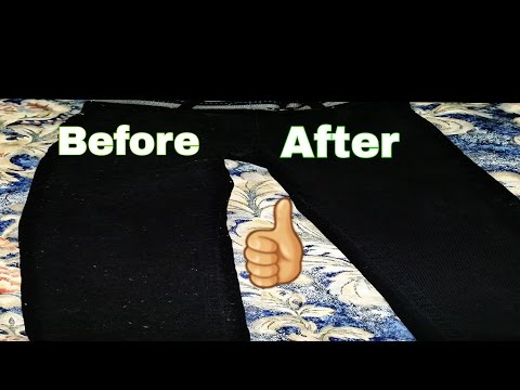 DIY: HOW TO REMOVE LINT EASILY AND QUICK FROM CLOTHING