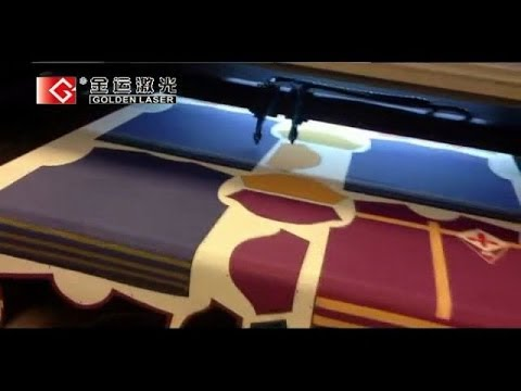 Sportswear Laser Cutting Machine for Printed Fabric