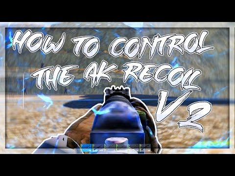 How to control ak recoil in rust v2 (FOV UPDATE)